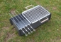 Preview: Schaschlik Grill, Mangal (Мангал‎), Campinggrill, Angler Grill aus 3 mm Stahl (ST37)
